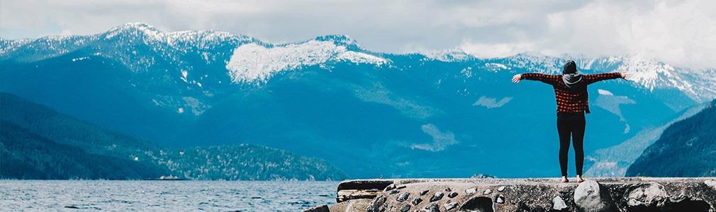 Montagnes au Canada
