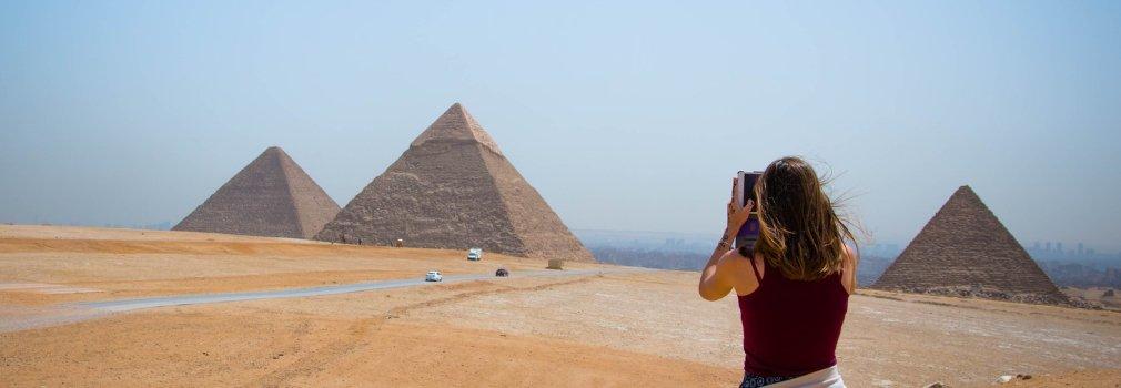 Pyramides de Gizeh, Égypte