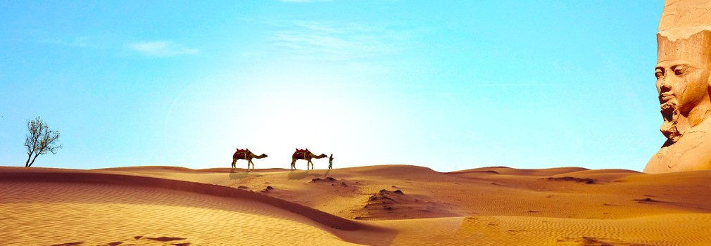Le Sahara en Égypte