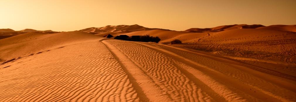 Le désert en Égypte