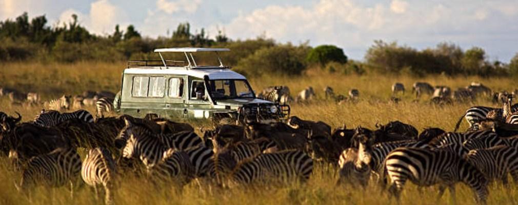 Jeepsafari Kenia
